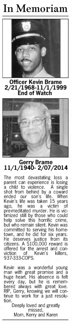 "Image of article titled ""In Memoriam 2014"" from Dayton Daily News"